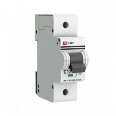 Выключатель автоматический однополюсный ВА 47-125 100А D 15кА PROxima | mcb47125-1-100D | EKF