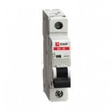 Автоматический выключатель ВА-63, 1P 2А (C) 10kA EKF | elr-1-02 | EKF