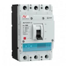 Автоматический выключатель AV POWER-1/3 100А 50kA ETU6.0 | mccb-13-100-6.0-av | EKF