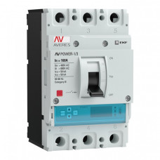 Автоматический выключатель AV POWER-1/3 160А 50kA ETU6.0 | mccb-13-160-6.0-av | EKF