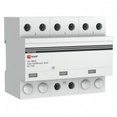Устройство защиты от импульсных перенапряжений Тип 1 Iimp 25kA (10/350?s) 3P EKF|spd-t1-25-3p|EKF