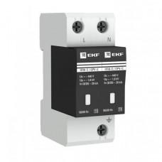 Ограничитель импульсных напряжений серии ОПВ-D/2P In 5кА 230В (с сигнализацией) EKF PROxima | opv-d2 | EKF