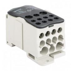 Блок распределительный (КБР) на DIN-рейку и монтажную панель 400A EKF PROxima | plc-kbr400 | EKF