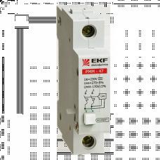 Расцепитель минимального и максимального напряжения РММ-47 EKF (для ВА с опломбировкой)   mdrmm-47-p   EKF