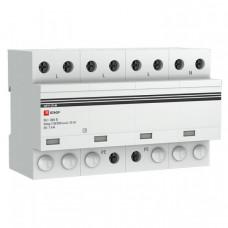 Устройство защиты от импульсных перенапряжений Тип 1 Iimp 25kA (10/350?s) 4P EKF|spd-t1-25-4p|EKF