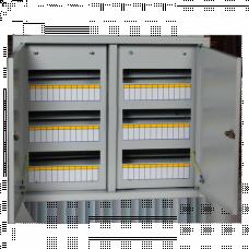 Щит распределительный встраиваемый ЩРВ-72 двухдверный IP31 (520х605х120) EKF PROxima   mb11-72   EKF