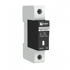 Ограничитель импульсных напряжений серии ОПВ-D/1P In 5кА 230В (с сигнализацией) EKF PROxima | opv-d1 | EKF