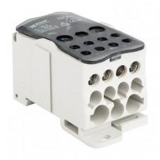 Блок распределительный (КБР) на DIN-рейку и монтажную панель 250A EKF PROxima | plc-kbr250 | EKF