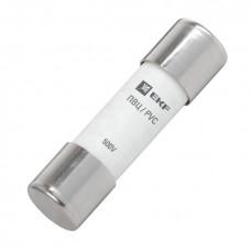 Плавкая вставка цилиндрическая ПВЦ (10х38) 25А EKF PROxima | pvc-10x38-25 | EKF