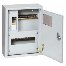 Щит учетно-распределительный навесной счетчик на дин-рейку ЩРУН 1/9 Э с окном IP31 (360x280x110) EKF PROxima | mb23-1/9e | EKF