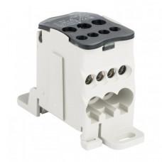 Блок распределительный (КБР) на DIN-рейку и монтажную панель 80A EKF PROxima | plc-kbr80 | EKF
