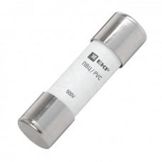 Плавкая вставка цилиндрическая ПВЦ (22х58) 10А EKF PROxima | pvc-22x58-10 | EKF