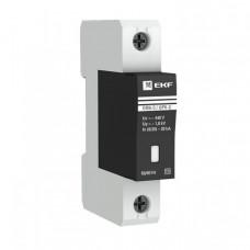 Ограничитель импульсных напряжений серии ОПВ-C/1P In 20кА 400В (с сигнализацией) EKF PROxima | opv-c1 | EKF