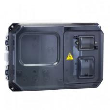 Щит учетно-распред. навесной пластик ЩУРн-П 1/5 (229х340х117) IP55 EKF PROxima | pb-1/5-55 | EKF