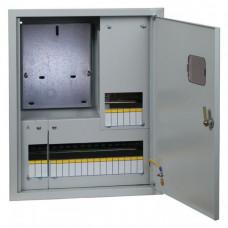 Щит учетно-распределительный встраиваемый ЩРУВ 3/24 с окном IP31 (550х440х160) EKF PROxima | mb13-3/24 | EKF