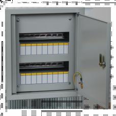 Щит распределительный встраиваемый ЩРВ-18 IP31 (390х340х120) EKF PROxima   mb11-18   EKF