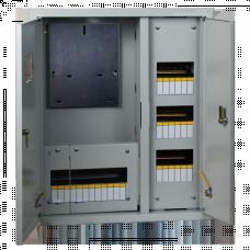Щит учетно-распределительный встраиваемый ЩРУВ 3/30 2-х дверный IP31 (530х620х165) EKF PROxima | mb13-3/30-2 | EKF