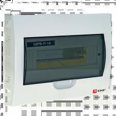 Щит распределительный встраиваемый ЩРВ-П-18 IP41 EKF PROxima | pb40-v-18 | EKF