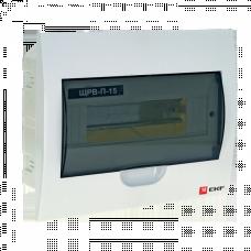 Щит распределительный встраиваемый ЩРВ-П-15 IP41 EKF PROxima | pb40-v-15 | EKF