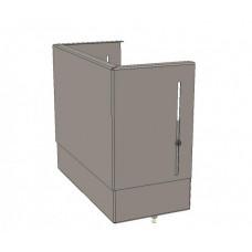 Цоколь верхний с компенсатором (410х300х150) EKF Basic   uerm-slide-410   EKF