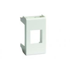 Адаптер Viva для keystone, 1 мод, серый   45107   DKC