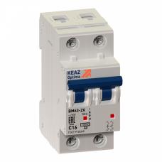 Выключатель автоматический OptiDin BM63-2K1-УХЛ3 (Новый) | 260632 | КЭАЗ