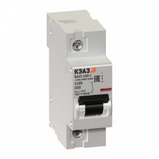 Выключатель автоматический однополюсный ВА47-100 100А C 10кА (ВА47-100-1С100-УХЛ3) | 141622 | КЭАЗ
