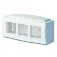 Модульная коробка для электроуст. изделий Brava. 6 модулей | 09221 | DKC