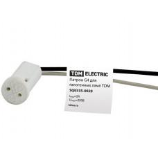 Патрон для галогенных ламп G4 | SQ0335-0020 | TDM