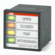 Индикатор светодиодный SL-3-A-C-S-115V/48 DC | 2CSG273223R3001 | ABB