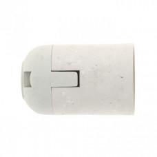 Патрон подвесной термостойкий пластик Е27 белый PROxima | LHP-E27-s | EKF