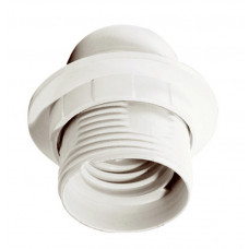 Патрон с кольцом пластик Е27 белый (50 шт), стикер на изделии Ппл27-04-К12 | EPP11-04-01-K01 | IEK