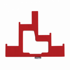 Изолятор ступенчатый ИС4-25/1-15 (4 x М6; 1 x М5) силовой   YIS11-5-25   IEK