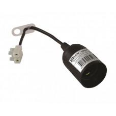 Патрон подвесной с клеммной колодкой Е27 черный | SQ0335-0021 | TDM