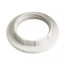 Кольцо к патрону, пластик, Е27, белый, индивидуальный пакет, | EKP10-01-02-K01 | IEK