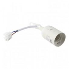 Патрон Е27 подвесной с клеммной колодкой пластик белый EKF PROxima|LHP-E27-w|EKF