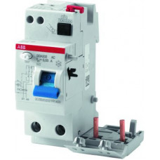 Блок.диф.тока 2мод. DDA202 AC-25/0,5 | 2CSB202001R4250 | ABB