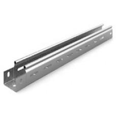 Металлический лоток перфорированный 50х50х3000 (0,55 мм) | ЛПМЗТ(М)-50х50х3000 | Ostec