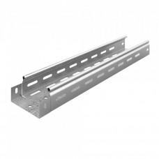 Металлический лоток перфорированный 100х50х3000 (0,55 мм) | ЛПМЗТ(М)-100х50х3000 | Ostec
