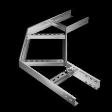 Угол лестничный горизонтальный 90 град 70х400 HD | LGL90*70*400*1.2 HD | КМ-профиль