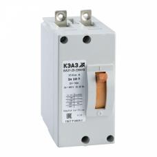 Выключатель автоматический ВА21-29В-220010-40А-6Iн-440DC-У3 | 103306 | КЭАЗ