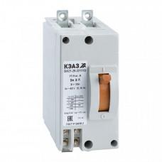 Выключатель автоматический ВА21-29В-241110-31,5А-6Iн-440DC-У3 | 103297 | КЭАЗ