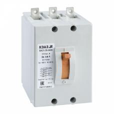 Выключатель автоматический ВА21-29-340010-1А-12Iн-400AC-З/П-У3 | 103332 | КЭАЗ