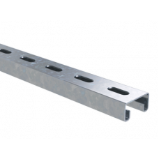 Профиль С-образный 41х21, L3000, толщ.1,5 мм, нержавеющий | BPL2130INOX | DKC