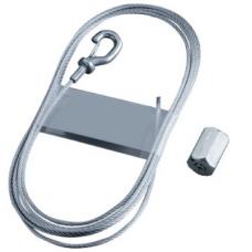 Трос с держателями L5000 диам.1.5 мм | CM615050 | DKC