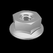 Гайка специальная с фланцем М6 DIN 6923   GS6   КМ-профиль