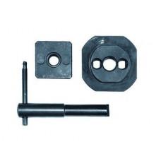 Набор для пробивки отверстий стыков лотков ДКС (матрица.пуансон.ключ) | 37040 | DKC
