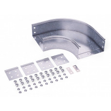 Угол CPO 90 горизонтальный 90° 400х100 в комплекте с крепежными элементами и соединительными пластинами, необходимыми дл | 36045KHDZ | DKC