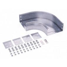 Угол CPO 90 горизонтальный 90° 150х50 в комплекте с крепежными элементами и соединительными пластинами, необходимыми для | 36003KHDZ | DKC