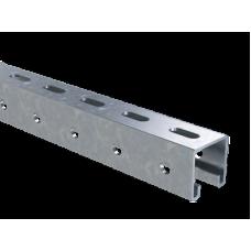 Профиль С-образный 41х41, L2100, толщ.2,5 мм, горячеоцинкованный | BPM4121HDZ | DKC